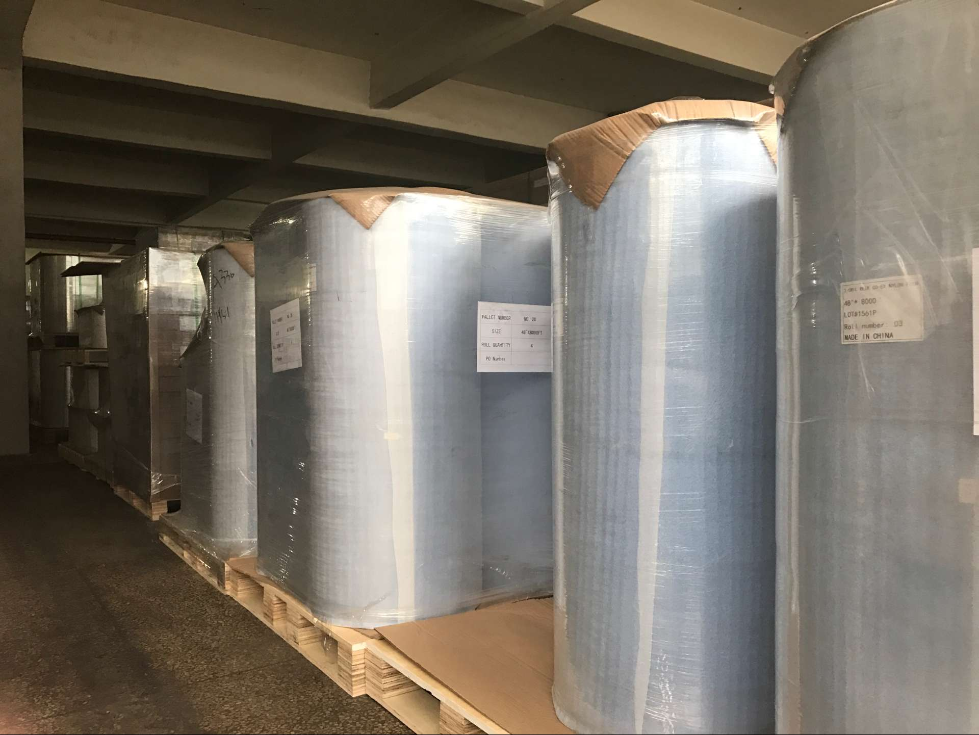 Multi-layer co-extrusion barrier film for food packing