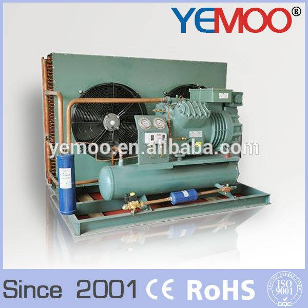 10HP YEMOO bitzer condensing unit cold room air cooled condensing unit