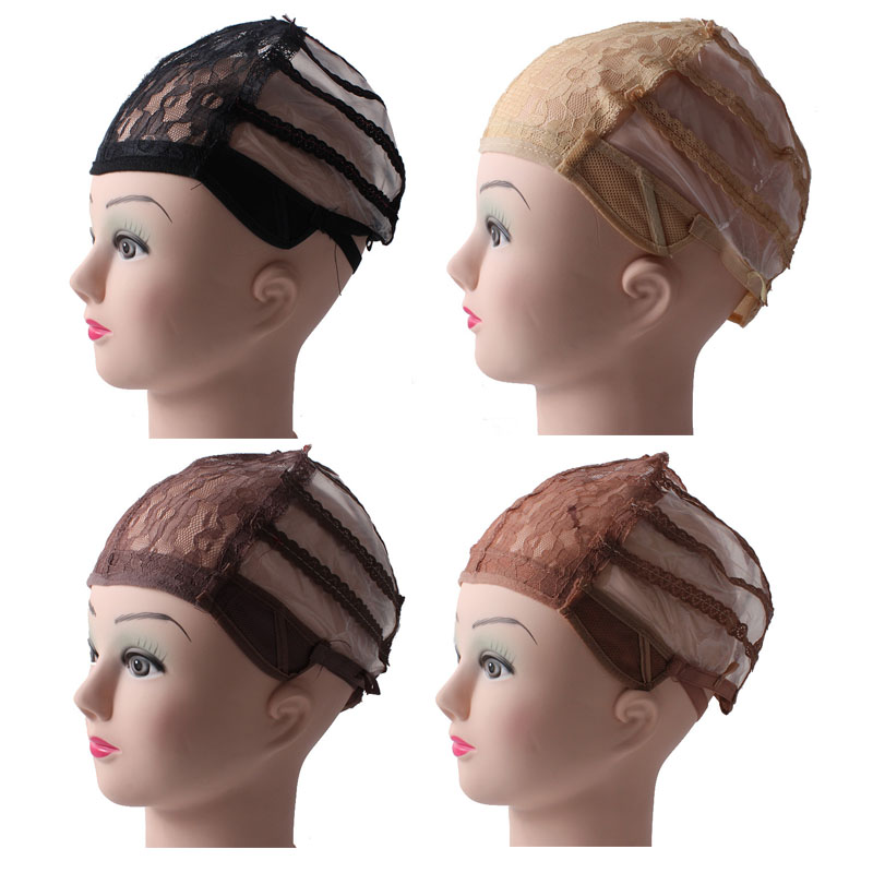 Jewish Glueless Wig Caps For Making Wigs Medium Size With Adjustable Strap