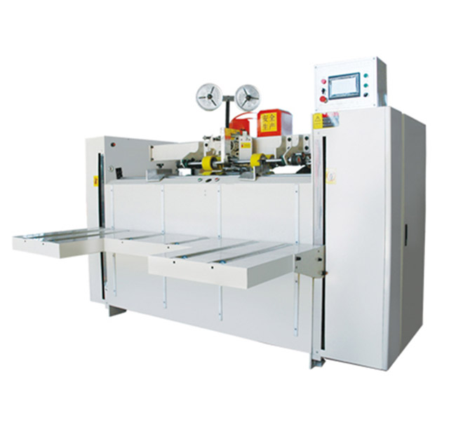 Semi Automatic Corrugated Box Stitching Machine