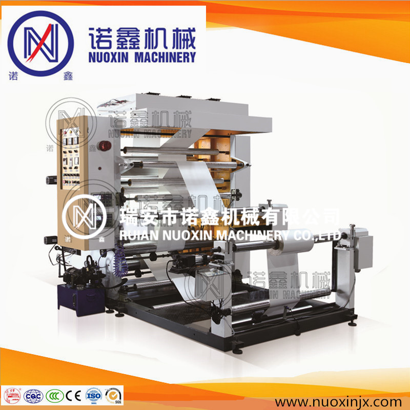 Ruian nuoxin 2 color paper flexographic printing machine