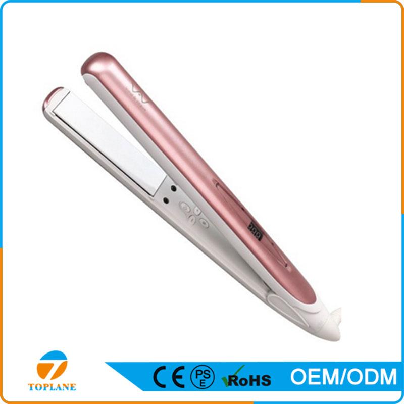 Beauty Salon Equipment Ceramic Hair Straightener Flat Iron Hair Straightening Tools