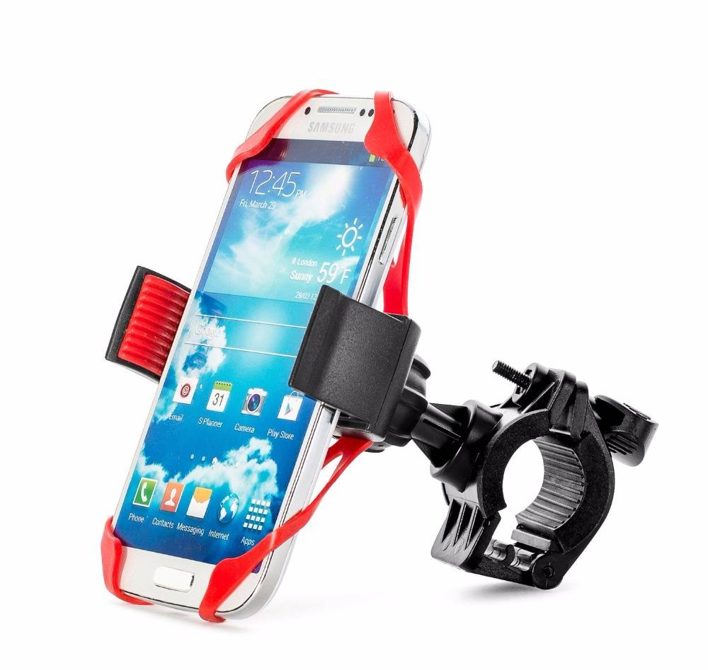 Universal bicycle car mount for cell phone car holder phone