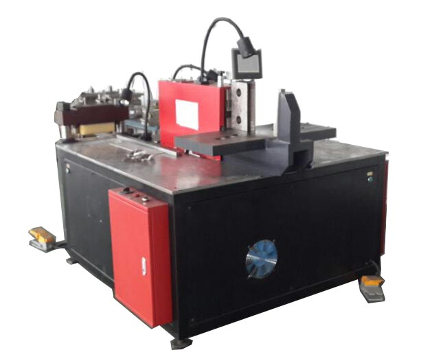 Three-in-one bus bar processing machine