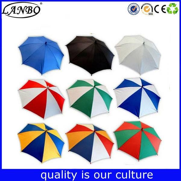 Customzied sun hat head umbrella wihtout handle rain hat umbrella