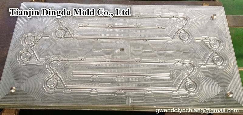 Rubber mold Alfa Laval P26 for Plate heat exchanger gasket for fresh water generator