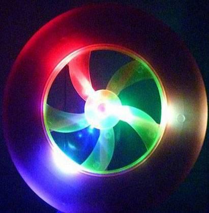 hot sale cheap plastic led frisbee