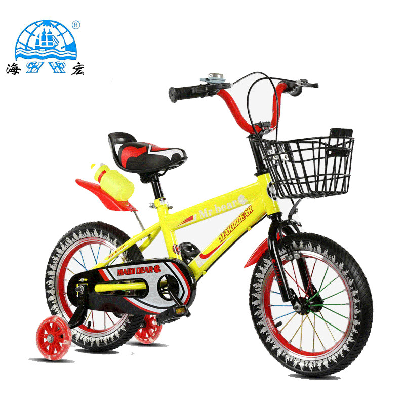 Supply popular road bike for kids/children bicycle with basket and bottle