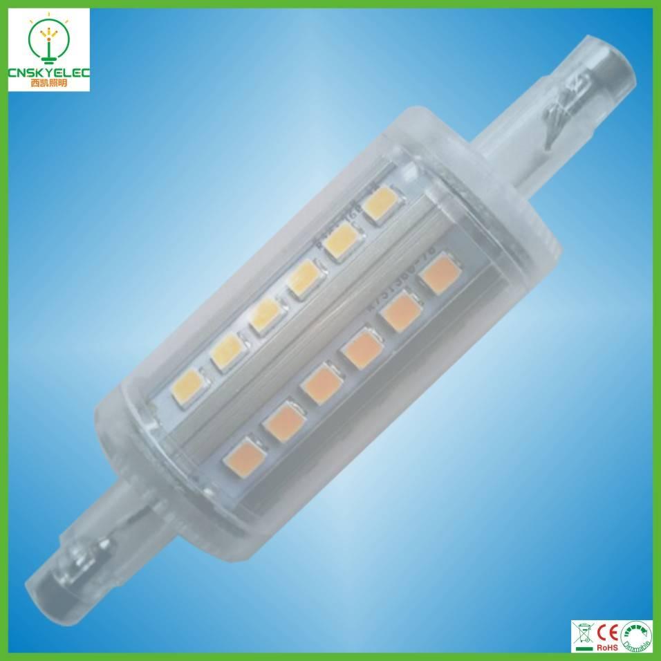 LED R7S 360degree 4W 78mm