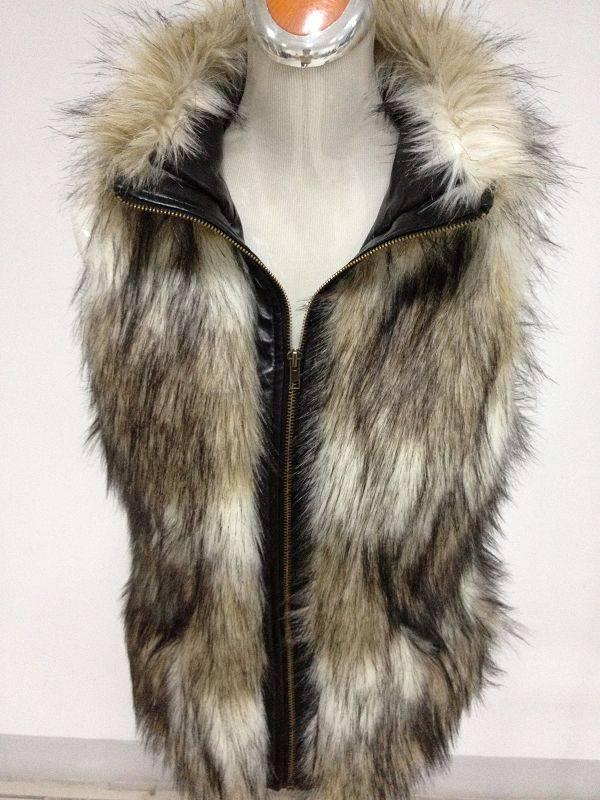 faux fur vest in stock