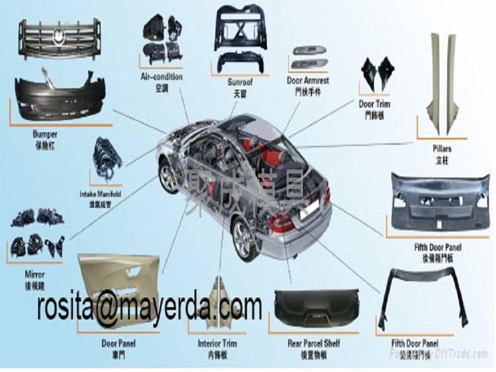 plastic mould for auto parts