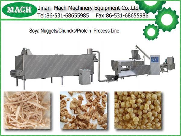 Soya nuggets making machine