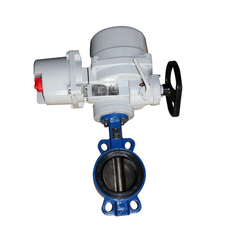 Electricwafersoft sealing butterfly valve