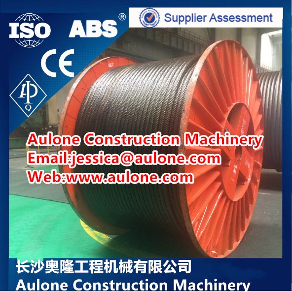 1960mpa,6×K36WS-IWRC container crane wire rope