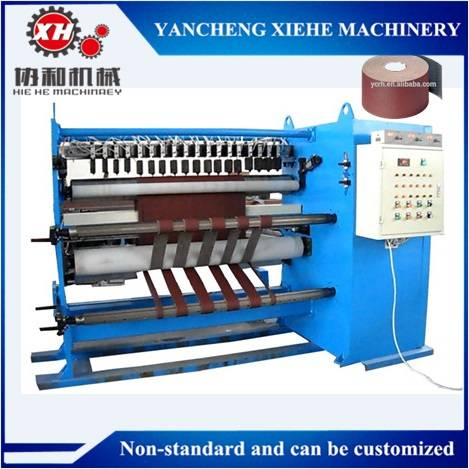 Abrasive Paper Roll to Roll Slitting Machine
