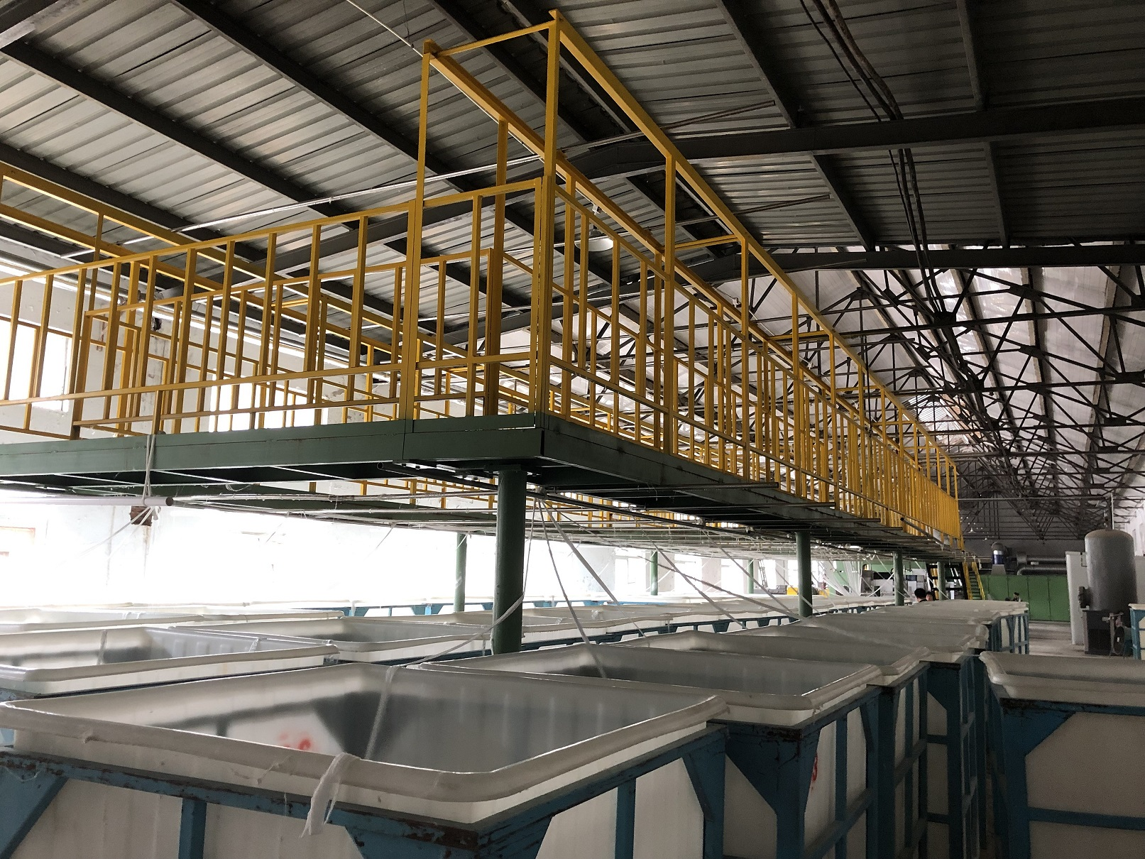 Polyester staple fibers production line/PSF making machine/PSF production line