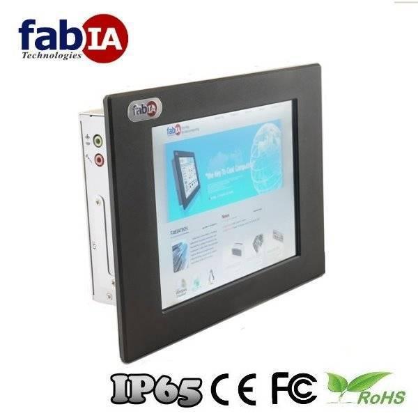 "FP8081T 8.4"" Fanless Atom Industrial Panel PC"