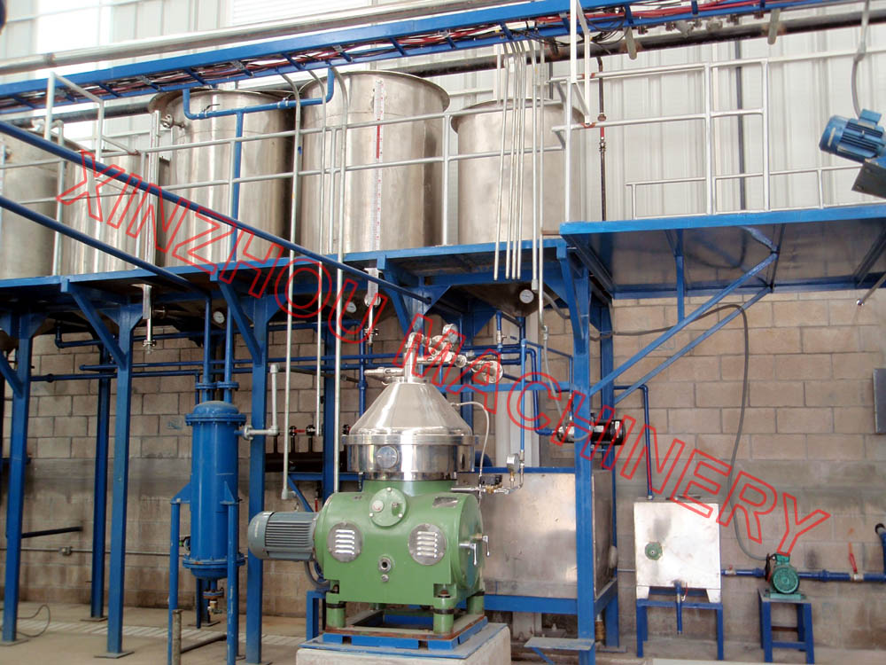 Fish oil production line