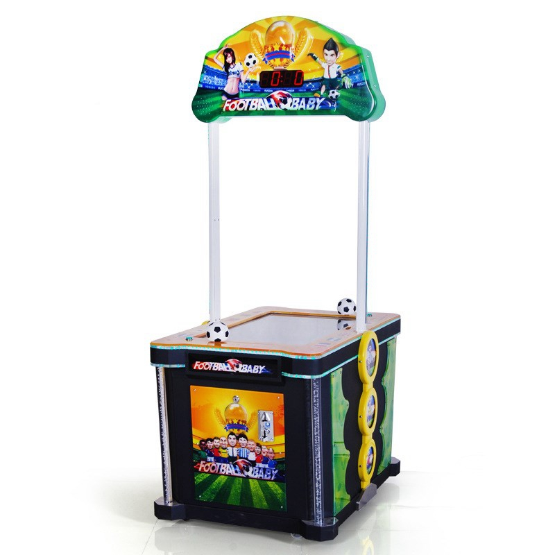 Kids Playing Coin Operated Game Machine Football Tickets Reward Baby Redemption Amusement Games