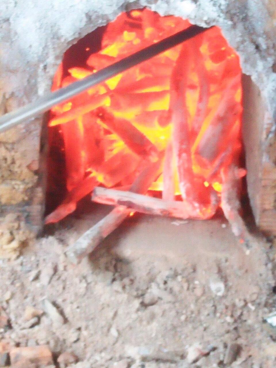 White charcoal for restaurants