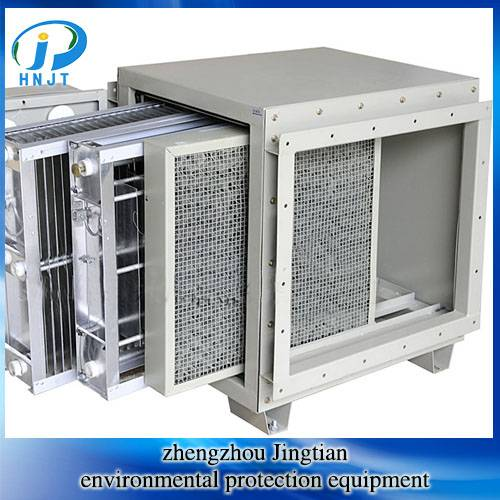 Wholesale Electrostatic Precipitator for oil smoke removal kitchen Lampblack Purifier