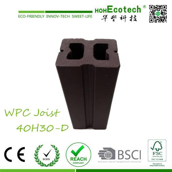 durable and strong wood decking bearer composite wpc joist