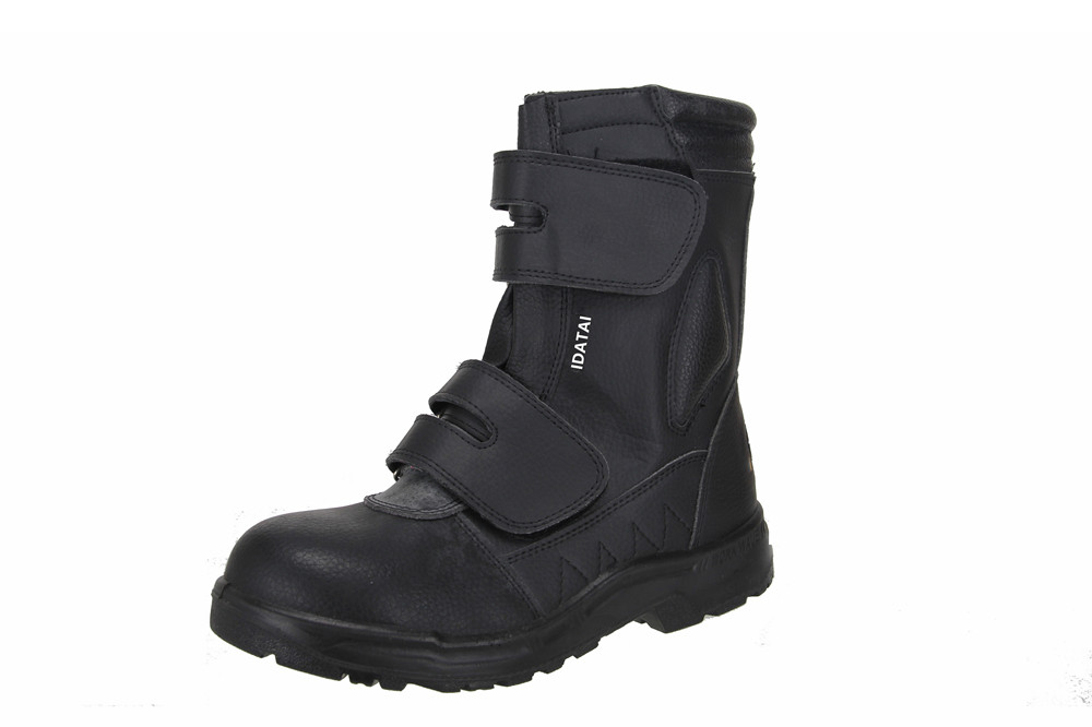 black work safety boots for men