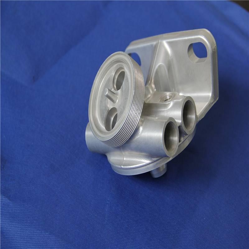 cnc machined automobile engine cover part