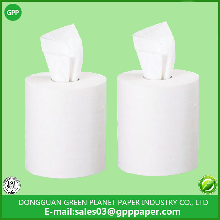 White Two-Ply Center-Pull Towels