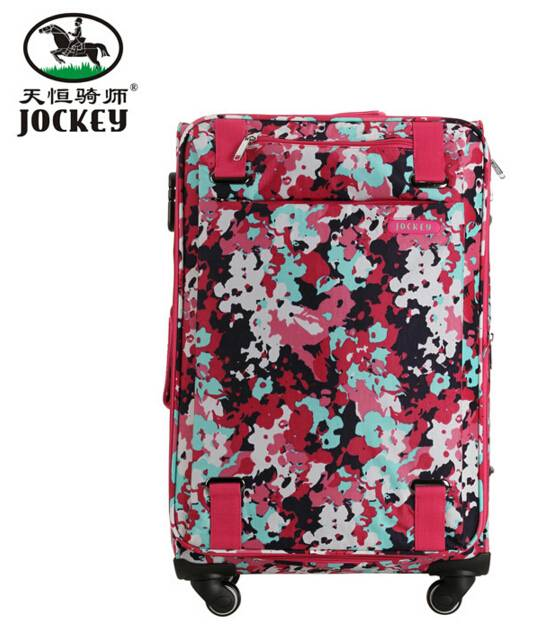 600D oxford fabric 24 inch two wheels hard luggage trolley case