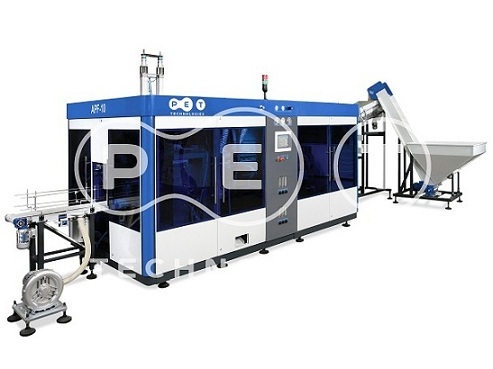 Automatic stretch blow molding machine APF -10