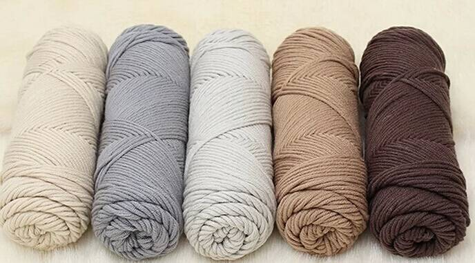 HB Recycled open end blended 65/35 polyester cotton sock yarn