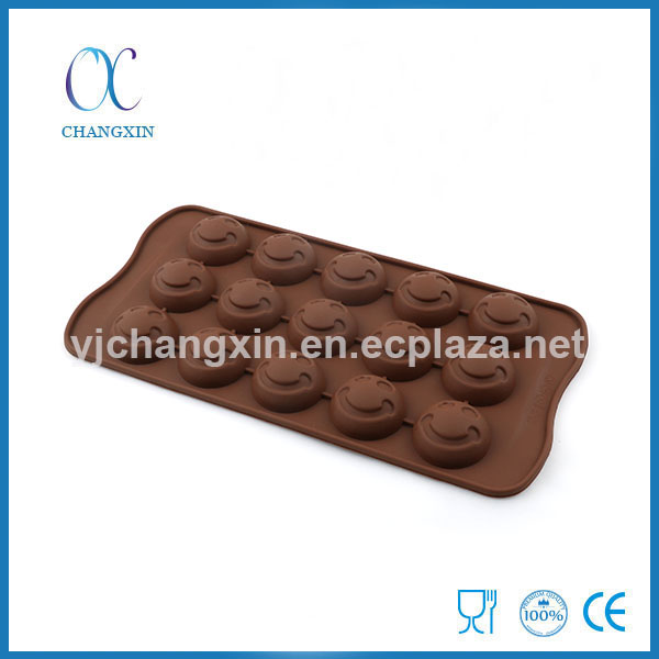 Good Quality Smile Face Silicone Biscuit Cookies Mould