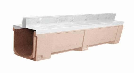 U200 polymer concrete gap drainage