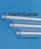 UV stop quartz tube