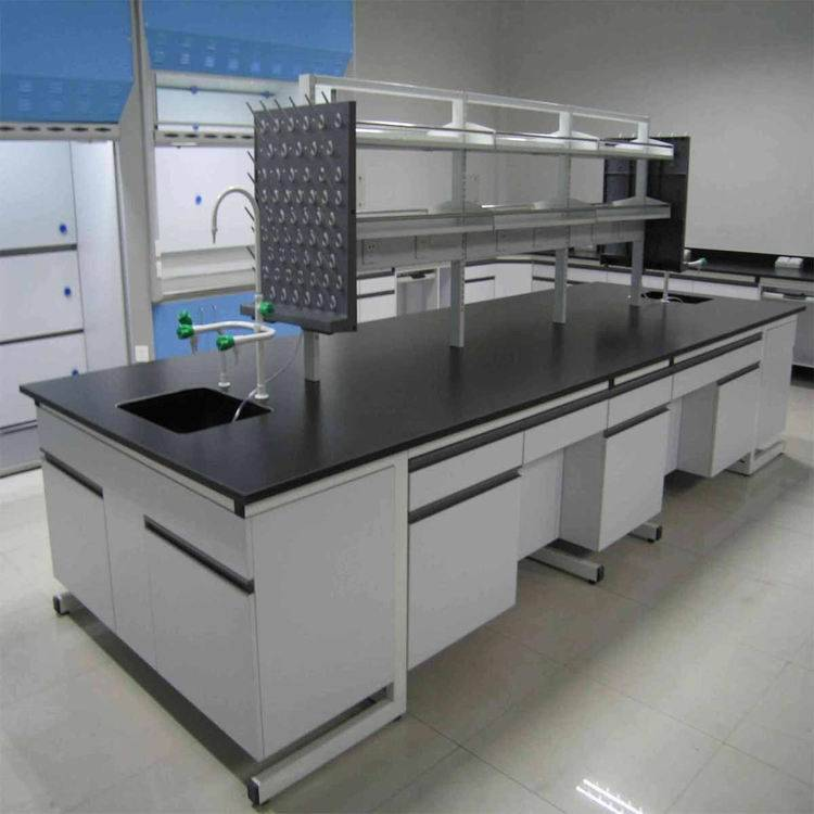 Metal Frame Wood Cabinet Lab benches from China
