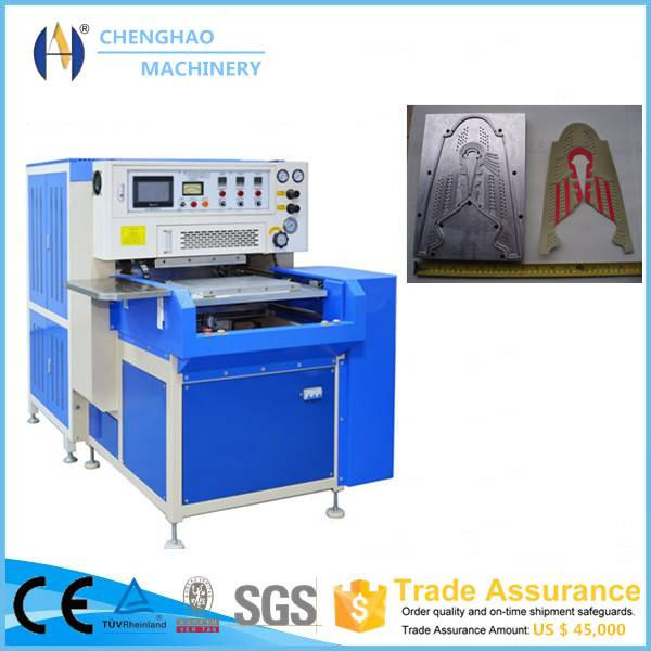 high frequency welding and cutting machine for shoe upper making/urine/blood/medical bag welding