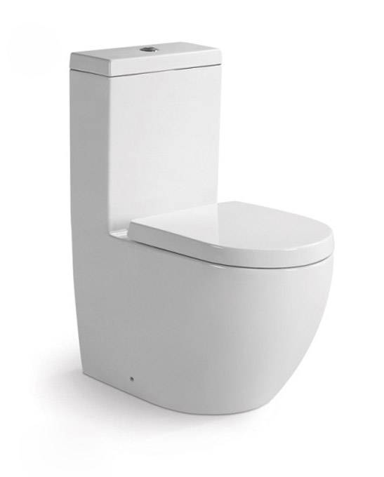 Luxury bathroom furniture design ceramic one piece toilet