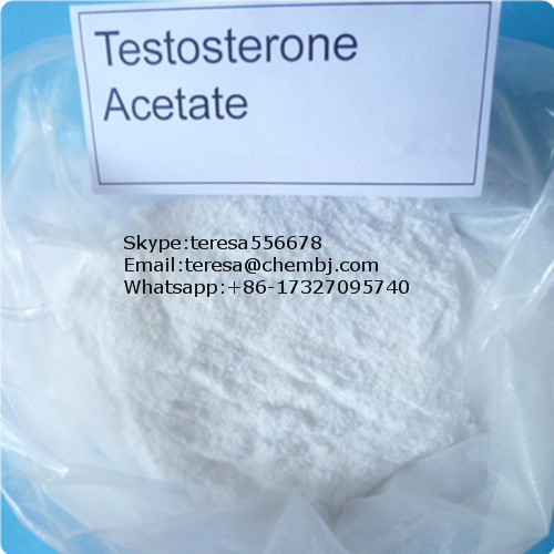 Anabolic Steroid Powder 1045-69-8 Testosterone Acetate for Male Bodybuilding