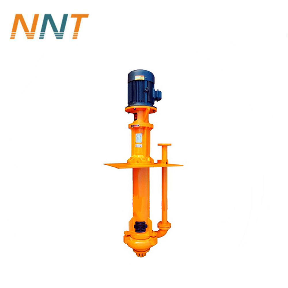 Small sump pump for pond sludge or mud removal and mining slurry