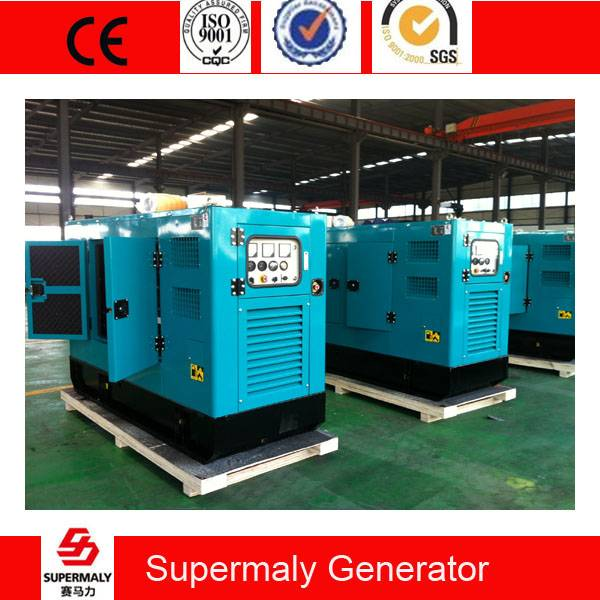 Global warranty 50KVA 40KW Perkins Engine Diesel Generator by 1103A-33TG1