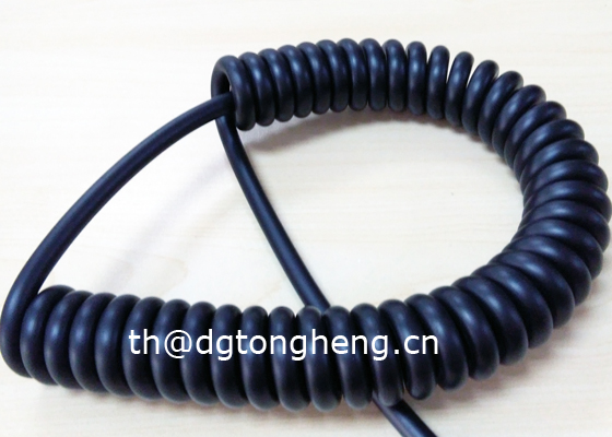 LSZH compliant Curly Control Cable
