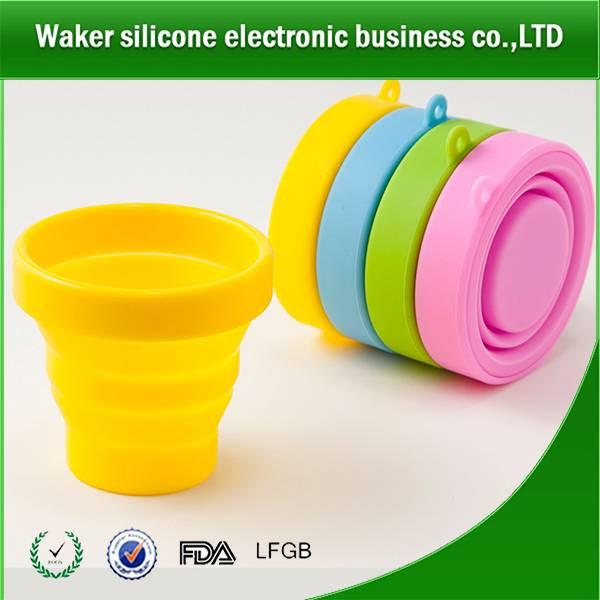 FDA&LFGB grade safty silicone drinking cup