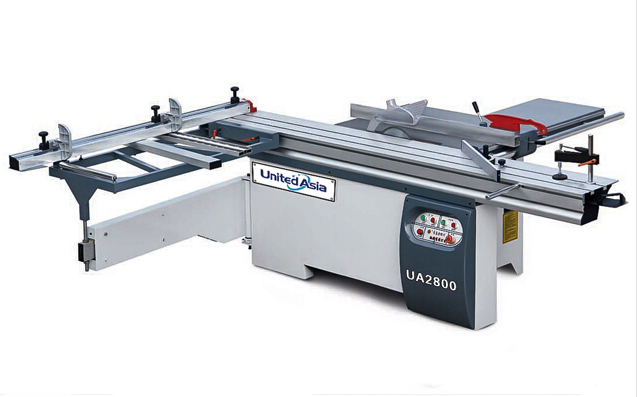 UA2800 sliding table saw