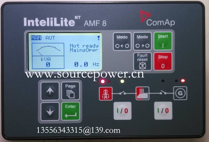 ComAp Auto Mains Failure (AMF) Gen-set Controller InteliLite-NT-AMF-8 IL-NT-AMF-8