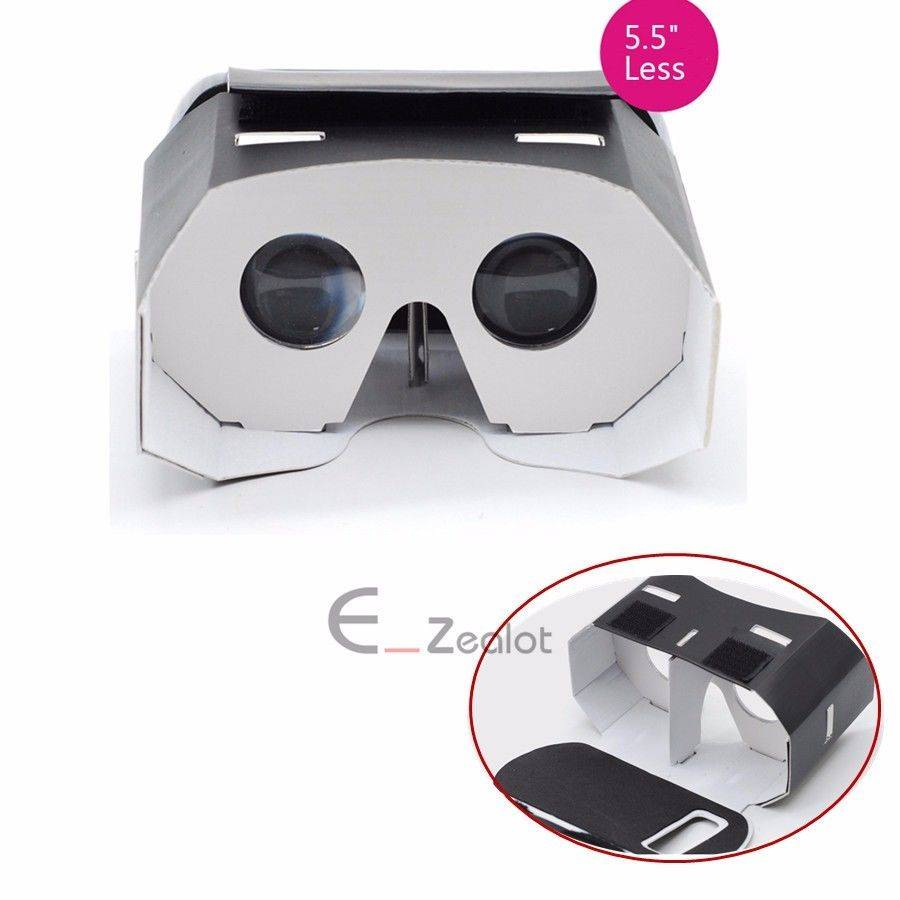 "Cardboard 4.7""-5.5"" VR Box for Google 3D VR Virtual Reality Glasses"