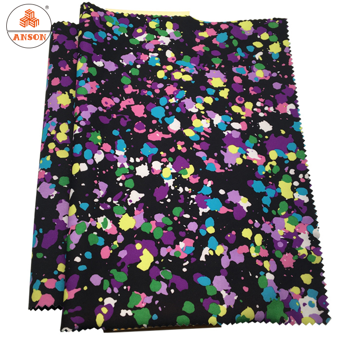 hot sale 2mm custommade digital printed neoprene fabrics