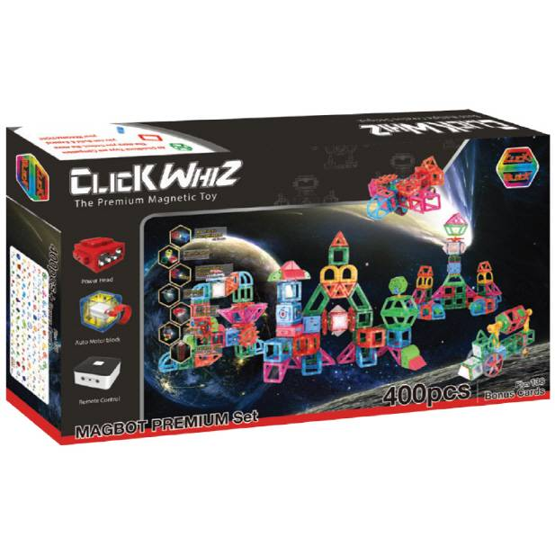 CLICKWHIZ MAGBOT-PREMIUM Educational magnetic block toy