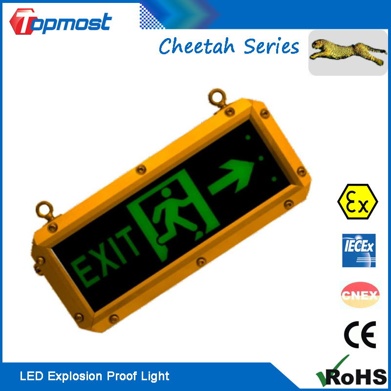 Explosion Proof Emergency LED Indicating Lighting for Exit Box