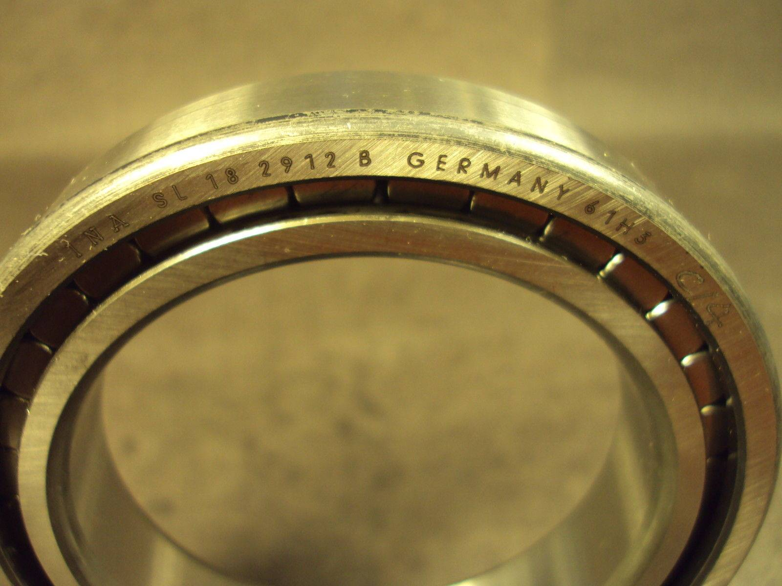 INA Single row full complement cylindrical roller bearings SL182934